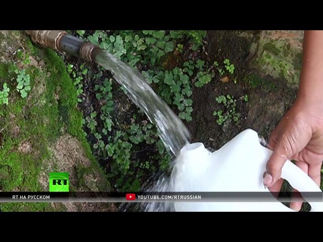 Израильская компания перекрыла воду деревням на севере Палестины