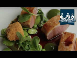 2-Michelin star chef Ashley Palmer-Watts creates a lamb and cucumber recipe