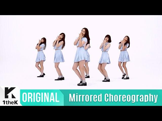 [Mirrored] GFRIEND(여자친구)_NAVILLERA Choreography(너 그리고 나 거울모드 안무영상)_1theK Dance Cover Contest