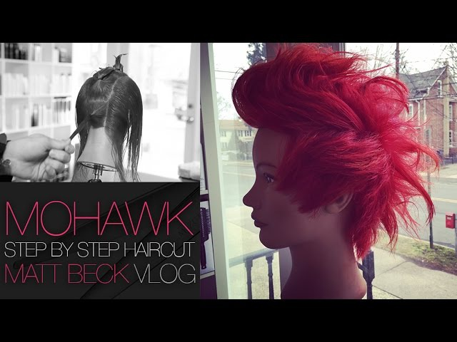 How To Cut A Grown Out MOHAWK Haircut Step by Step | FOHAWK Haircut for MEN and Women