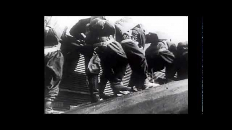 Russian Paratroops Jump From Wing Of Tupolev TB-3 (1937)| History Porn