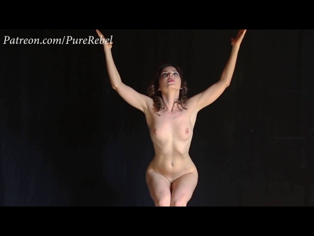 Artistic Nude Yoga Music Video With Model Pure Rebel-7245