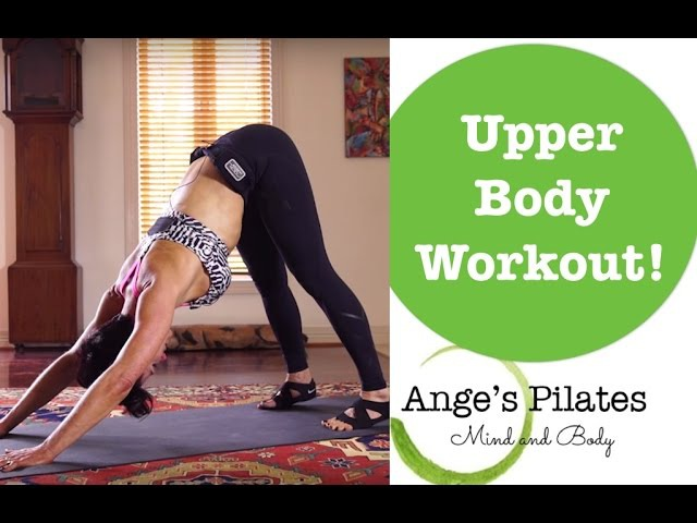 Ange's Pilates 30 Minute Upper Body Workout