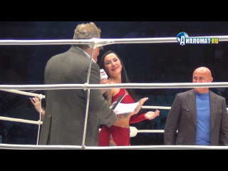 Анжелика Андерсон дебютирует в ММА на юбилейном турнире M-1