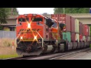 Railfanning Kelso, WA - Citirail, UP, BNSF on the Seattle Sub 6/15/16