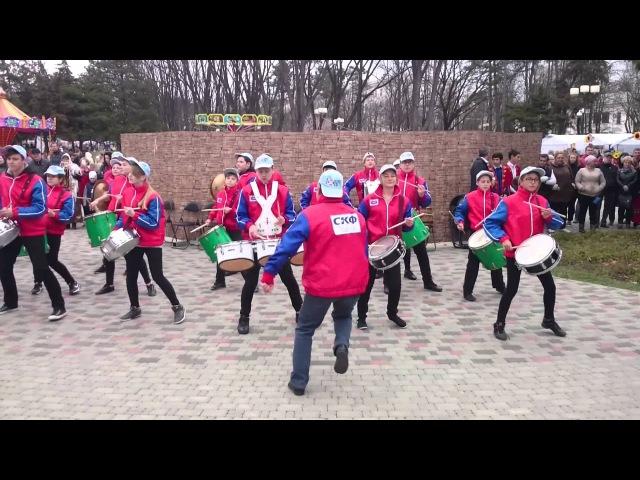 Ансамбль Юнга г.Новороссийск. Выступление на Масленницу в Краснодаре 13.03.2016
