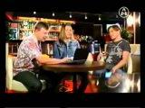 Би 2 Шура и Лёва в программе Лебединное O`Zero на телеканале Aone
