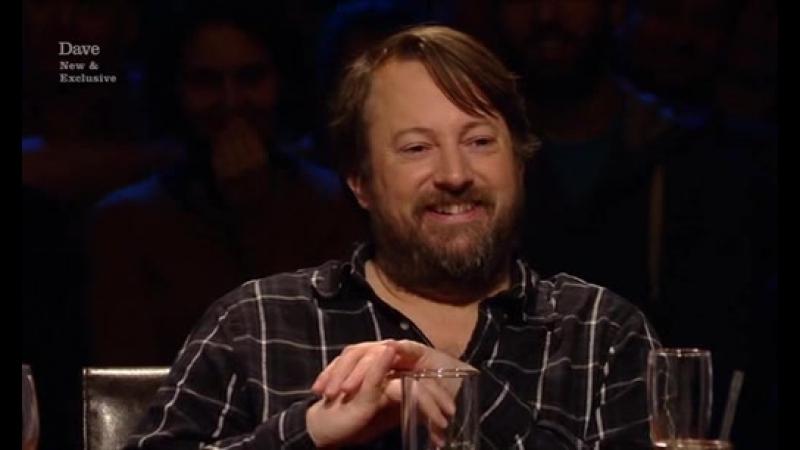 Alan Davies As Yet Untitled 4x04 Hitler Jingle Lolly Adefope Dane Baptiste David Mitchell Liza Tarbuck