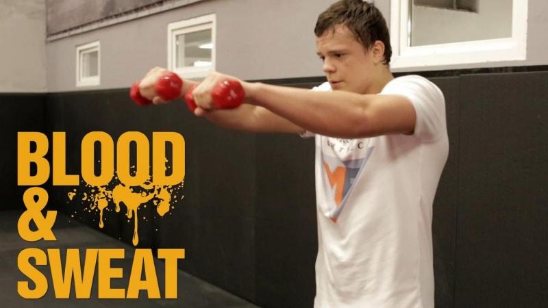 Тренировка плечевого пояса Техника и СФП бокса Игорь Смольянов