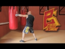 Отработка на боксерском мешке строенных комбинаций Техника бокса Игорь Смольянов