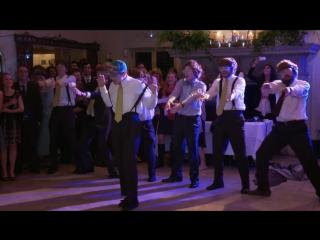 Танец - сюрприз для невесты от жениха и его друзей!