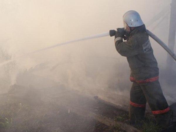 На выходных в Таганроге произошел пожар