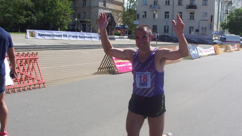 Финиш Д.Княжева-4 место.