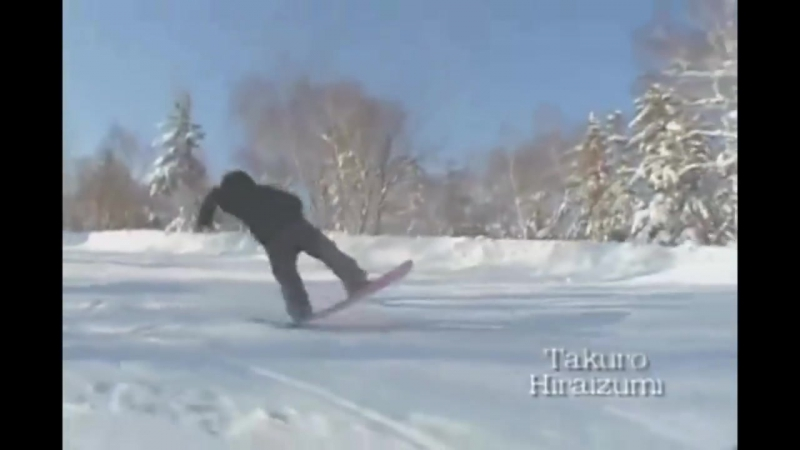 Master Of Ground 1-5 flat tricks - Snowboard - Japan Style