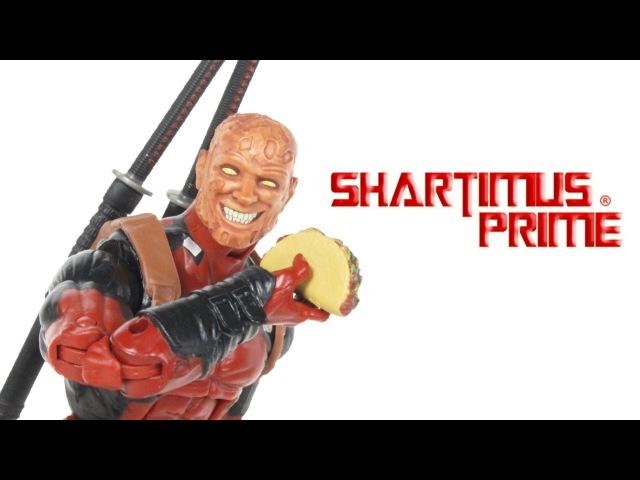 Marvel Legends Deadpool 2016 X-Men Juggernaut BAF Toy Comic Action Figure Review