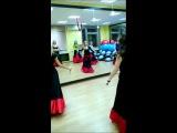 Танец с кинжалами. Постановка Алены Арсентьевой, 2013 г