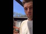 Aaron Carter  On Periscope 12022016
