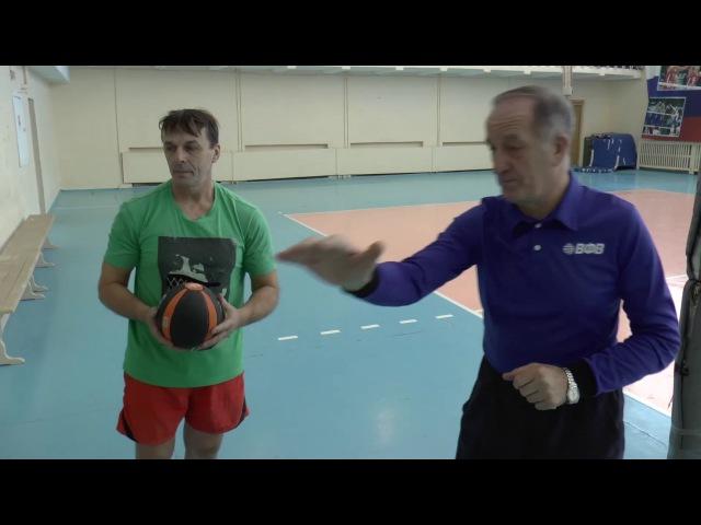 Передача сверху Обучение волейболу взрослых