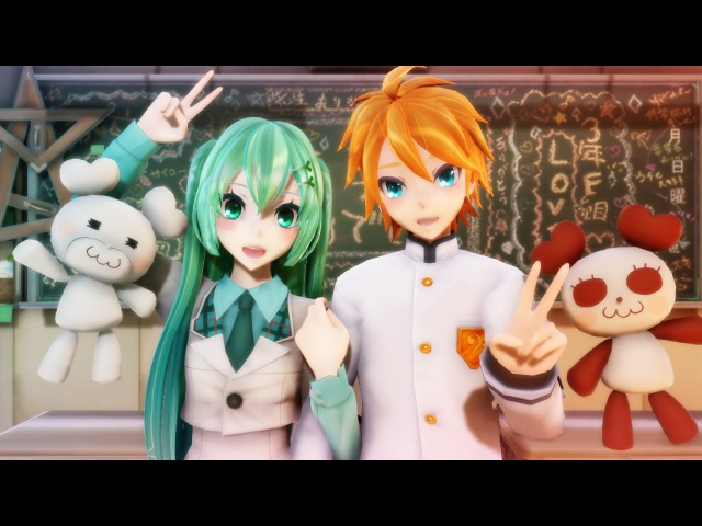 【MMD PV】A Solution for Jealousy - Kagamine Len ・ Hatsune Miku 【鏡音レン・初音ミク】 (English / Romaji Sub)