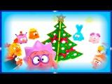 Мультики про Новый Год для самых маленьких детей. Машинки. Смешарики. Свинка Пеп ...