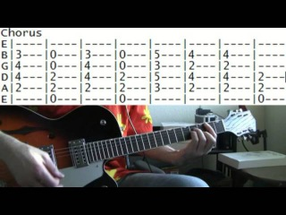 Guitar lesson Secret agent man by Johnny Rivers tab
