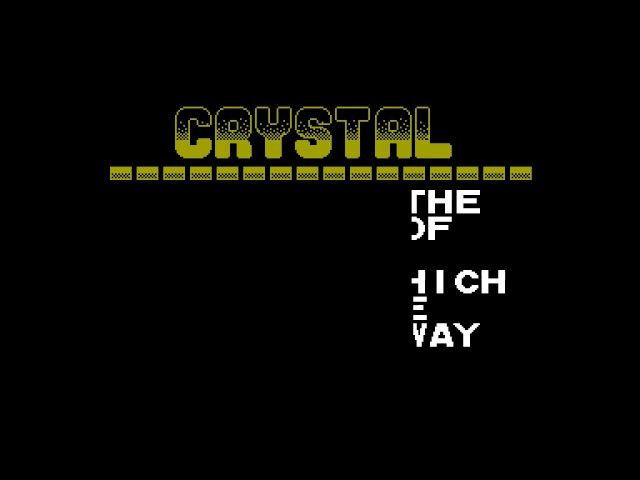 Crystal Kilodemo,The - Zack [zx spectrum demo site zxaaa.net]