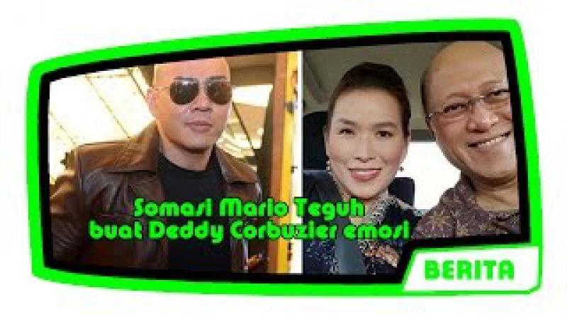 Somasi Mario Teguh buat Deddy Corbuzier emosi