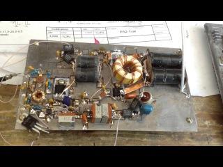 Усилитель мощности на IRF510 (часть1)