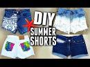 Cách Làm Quần Shorts từ Quần Jeans | Handmade