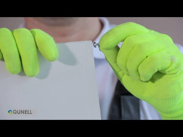 Откосы ПВХ. Практичное и простое решение. Монтаж пластиковых откосов Qunell.