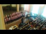 Мл. хор ХДХорШ, руководитель Кристина Месмер, концертмейстер Дмитрий Лазюка 2015 г.