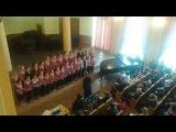 Мл. хор ХДХорШ, руководитель Кристина Месмер, концертмейстер Дмитрий Лазюка 2015г.