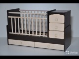 Сборка детской кроватки-трансформера