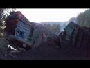 Перегон Ерал-Симская Крушение Грузового Поезда №2707, 11.08.11