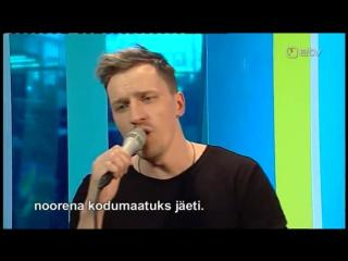 Jamala - 1944 - cover by Rolf Roosalu / кавер на эстонском языке в утреннем эфире ETV