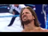 WWE Backlash 2016 AJ Styles vs Dean Ambrose