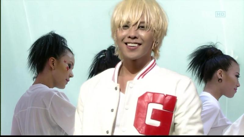 G-DRAGON - Heartbreaker Breathe [2009.08.30 SBS Inkigayo]