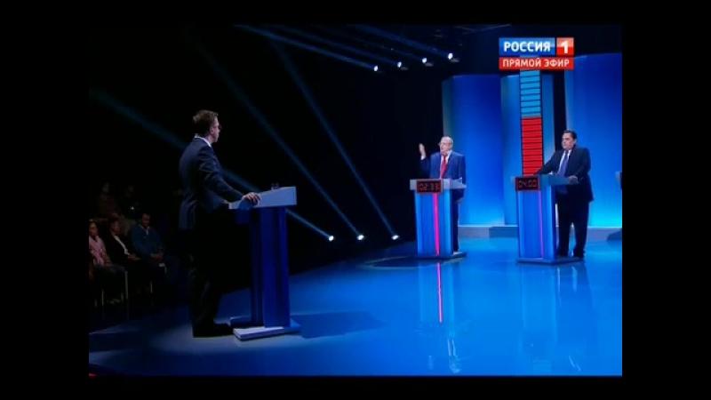 Выборы 2016. Дебаты. Среда равных возможностей (02.09.2016)