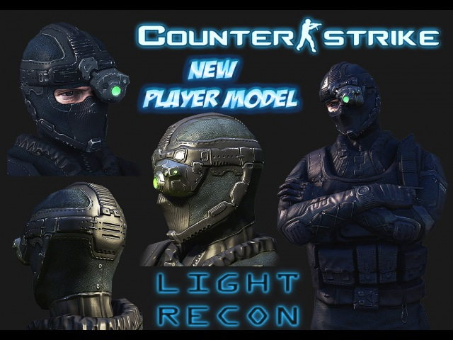 Light recon new player model for cs 1 6