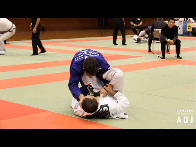 Gui Mendes | 3rd fight | 2013 Rickson Cup Japan | Art of Jiu Jitsu Academy