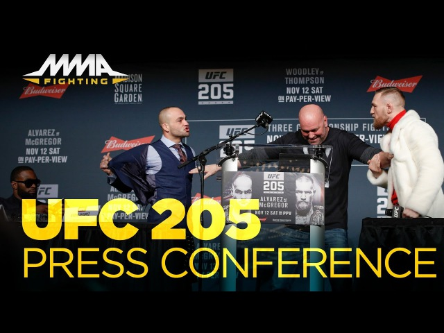UFC 205 press conference video