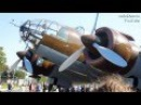 Samolot bombowiec PZL 37 ŁOŚ Rekonstrukcja Mielec 30 wrzesień 2012 HD
