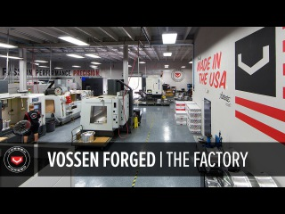 Vossen Forged Wheels | How It's Made | The Factory #madeinmiami