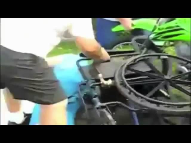 ТОП20 Неудачные трюки на мотоцикле