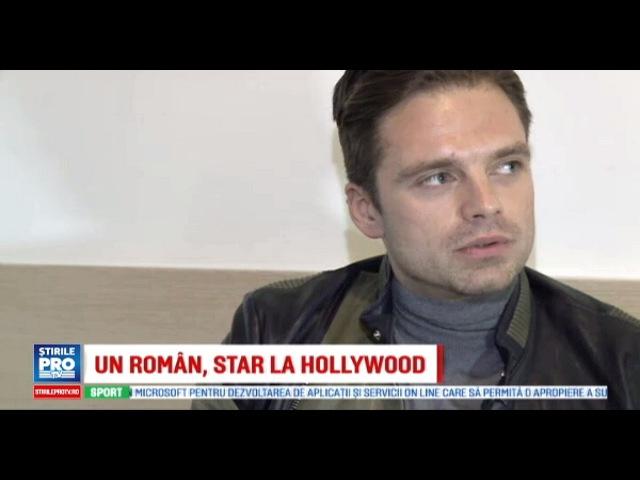 Sebastian Stan talking for Romanian television ProTV (with English subtitle)