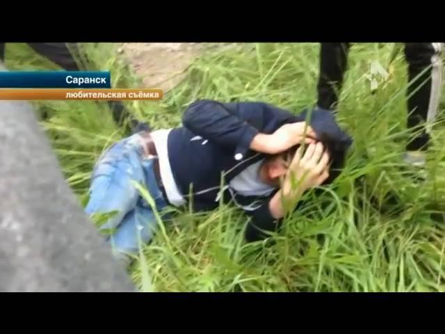 В Саранске школьники жестоко избили мужчину, которого заподозрили в педофилии