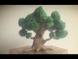 Супер реалистичное дерево, респект автору.