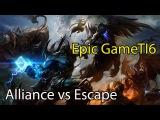 Game of thrones Loda vs Qoqjva - Alliance vs Escape TI6