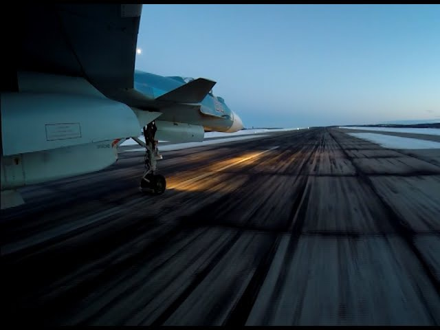Ночные полеты Су-33. Съемка с камер GoPro yjxyst gjktns ce-33. c]tvrf c rfvth gopro