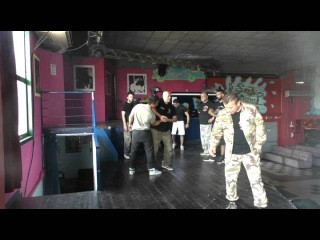 Real Self defense against a knife attack Vadim Starov's Seminar Italy with the school of Krav Maga